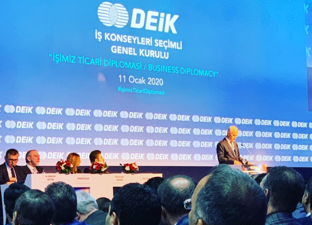 İNDES Engineering to Open the Doors to Export with the New Tasks It has Undertaken at DEİK
