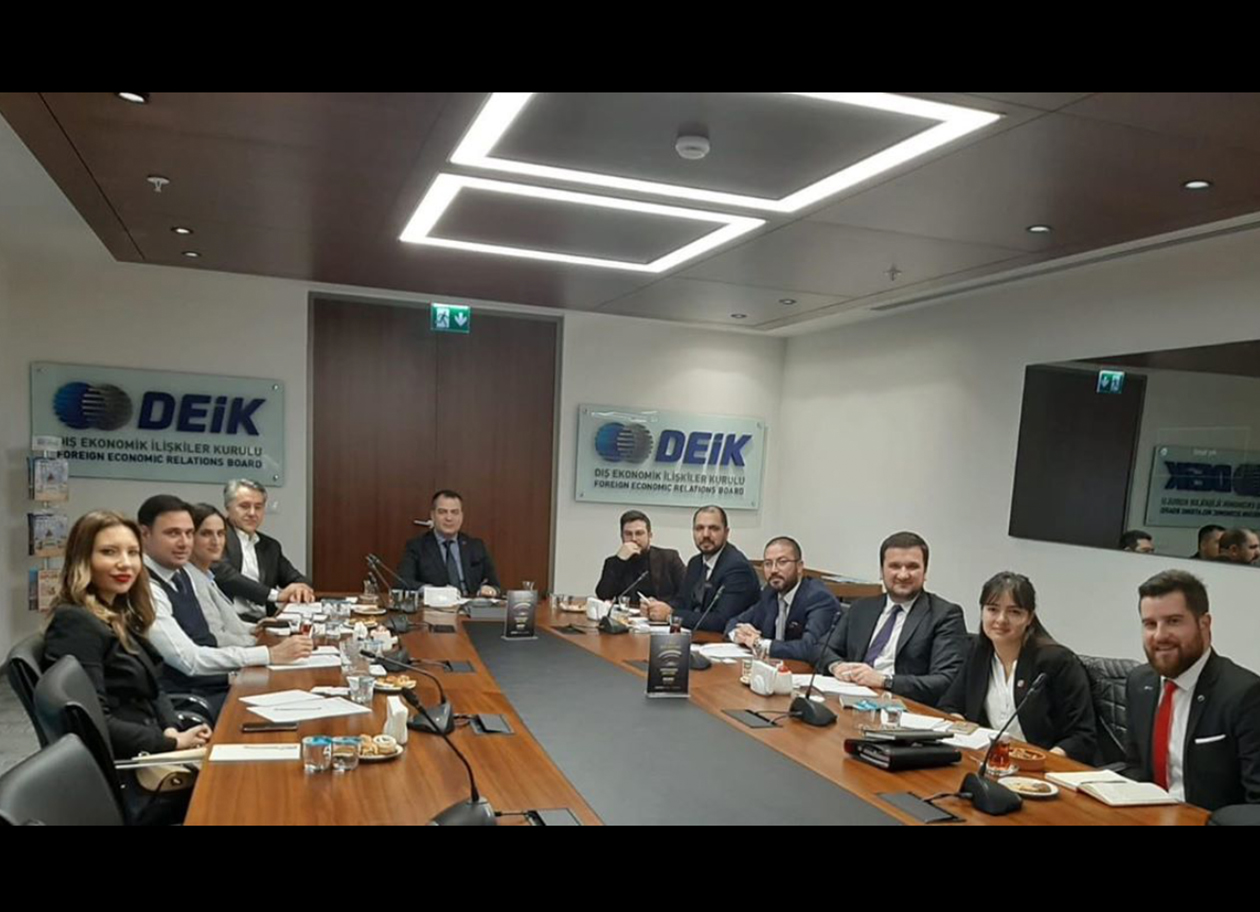 İNDES Engineering Attends DEİK Business Council Executive Board Meeting