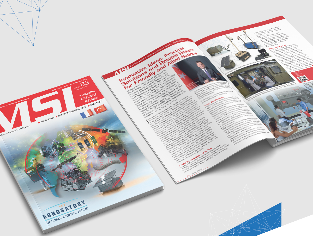 INDES Engineering Solutions Introduced its Products to the World with MSI TDR's Eurosatory Special Digital Issue