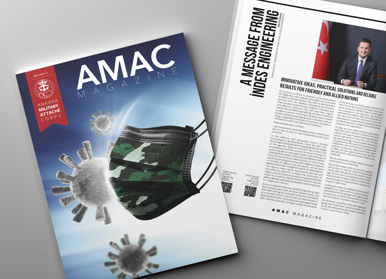 Melih Özkan, Our Chairman of the Board Addressed Military Attachés in Turkey through AMAC Magazine